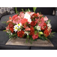 Sympathy Cemetery Flower Arrangement > Exclusive Plastic Tray >model 403