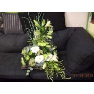 Sympathy Cemetery Flower Arrangement ( Exclusive Plastic Tray ) >model 412