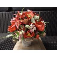 Artificial Flower Arrangement > Model 602