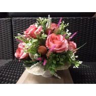 Artificial Flower Arrangement > Model 604
