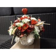 Artificial Flower Arrangement > Model 606