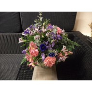 Bouquet in Rose and Blue