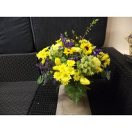 Bouquet in Yello and Blue