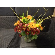 Bouquet in Red and Orange