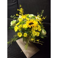 Bouquet in Yello and White