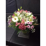 Bouquet in White and Rose