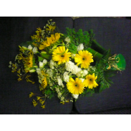 Sympathy Bouquet with Gerberas
