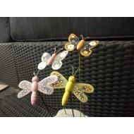 Butterfly fantasy on a stick in various colors